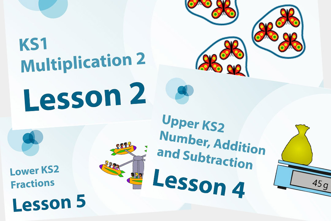 Small coherent steps in learning are evident in these video lessons produced by the NCETM when many pupils were not able to attend school.  Many uses including with pupils or as professional development.