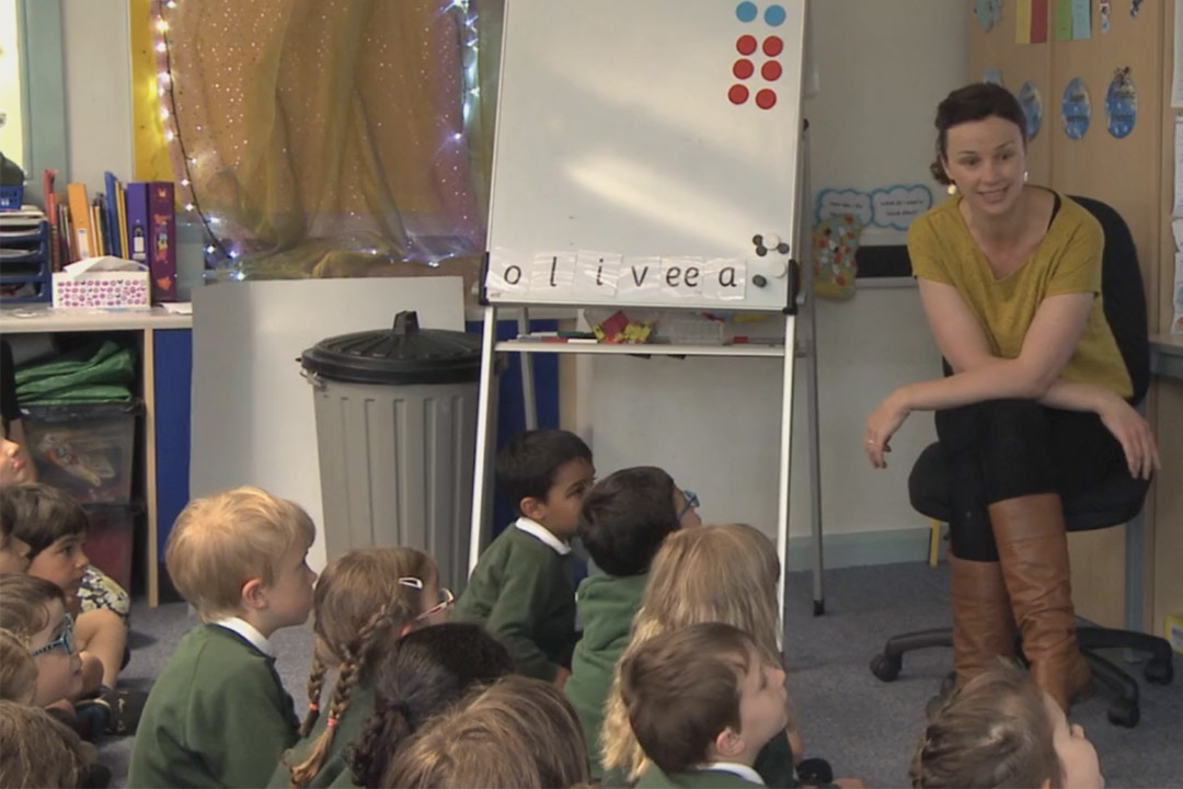 A Year 1 lesson on difference as a form of subtraction